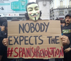[Foto: Nobody expects the #spanishrevolution]