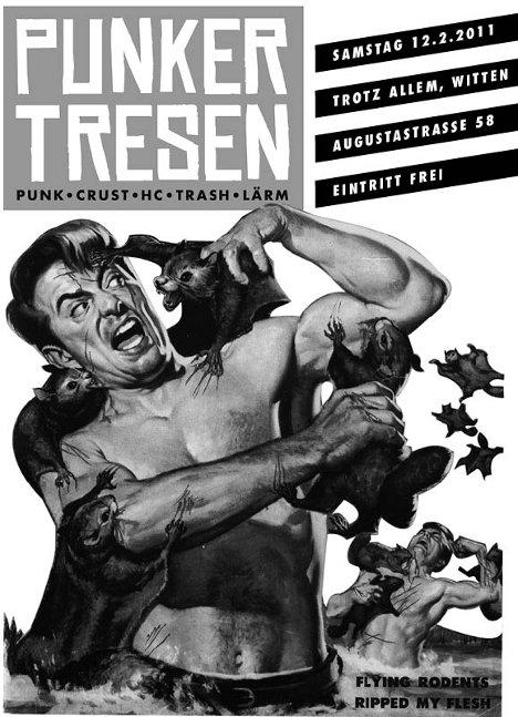 Punkertresen 2011-02-12, Trotz Allem, Witten, Augustastraße 58, Eintritt frei